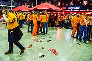 ROTTERDAM - pdc darten in ahoy  fans ROBIN UTRECHT