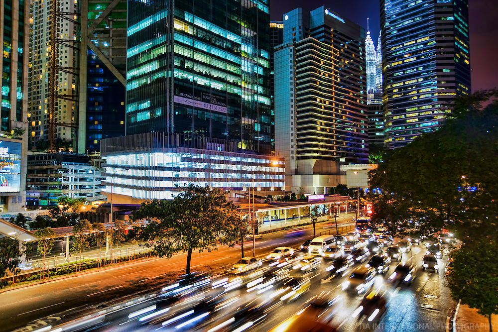 Rush Hour Traffic on Jalan Ampang (2)