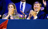 1-2-2015 AMSTERDAM - KING WILLEM ALEXANDER AND QUEEN MAXIMA AND PRINCESS ARIANE AND ALEXIA VISIT JUMPING AMSTERDAM on sunday . COPYRIGHT ROBIN UTRECHT 1-2-2015 AMSTERDAM -  KONING WILLEM ALEXANDER EN KONINGIN MAXIMA EN PRINSES, Ariane en Alexia bezoeken Jumping Amsterdam op zondag en prinses margarita. COPYRIGHT ROBIN UTRECHT