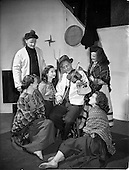 """1955 -  Abbey Theatre scenes from """"An Posadh"""" (The Marriage) by Douglas Hyde."""