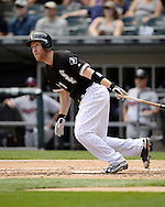CHICAGO - JUNE 30:  Todd Frazier #21 of the Chicago White Sox bats against the Minnesota Twins on June 30, 2016 at U.S. Cellular Field in Chicago, Illinois.  The White Sox defeated the Twins 6-5.  (Photo by Ron Vesely) Subject:    Todd Frazier