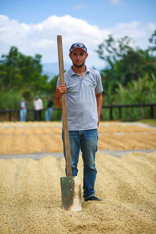 Farmer Pablo S&aacute;nchez God&iacute;nez photographed at La Candelilla coffee farm during the 2016 Starbucks Origin Experience for Partners. Photographed in January 2016. (Joshua Trujillo, Starbucks)<br /> <br /> ***model released***