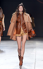 FEB 16 2014 Topshop Unique show at London Fashion Week A/W 2014