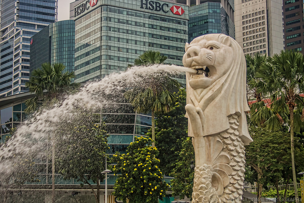 The Merlion (National Emblem of Singapore)