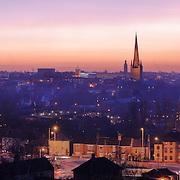 Norwich panoramic city skyline