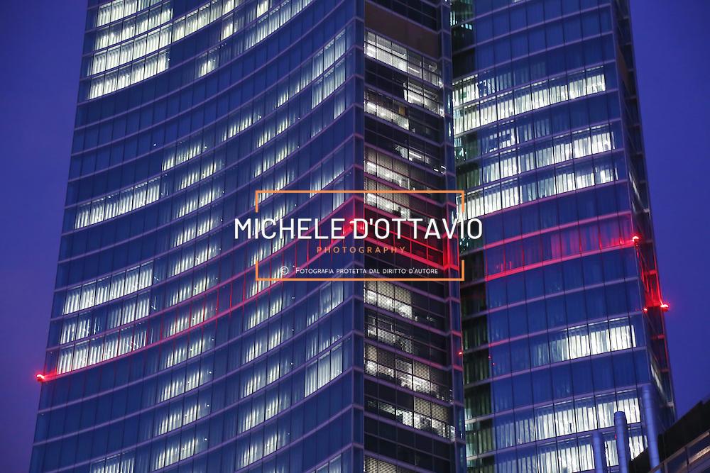 """Milan, the skyscraper """" Palazzo Lombardia """", new headquarters of Lombardy Regional authority..Milano, il grattacielo """" Palazzo Lombardia """", nuova sede della Regione Lombardia"""