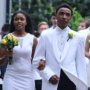Sanford graduates comprised of 64 students participates in a traditional processional during the start Sanford 79th commencement exercises Friday, June 05, 2015, at Sanford School amphitheater in Hockessin, Delaware.