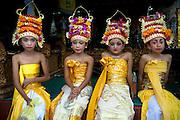 Cleansing ritual, Kuningan Festival, Mas - Bali Indonesia