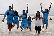 Team India at Copacabana Beach, Homeless World Cup 2010. Rio de Janeiro, Brazil