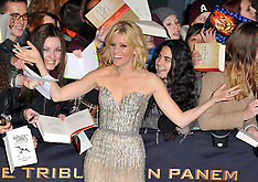 NOV 12 2013 German premiere of  The Hunger Games: Catching Fire