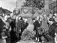 Parnell Commemorations.05/10/1958