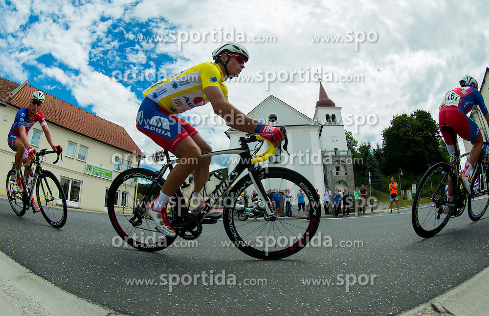 ROGLIC Primoz (Slovenia) of Adria Mobil during Stage 4 of 22nd Tour of Slovenia 2015 from Rogaska Slatina to Novo mesto (165,5 km) cycling race  on June 21, 2015 in Slovenia. Photo by Vid Ponikvar / Sportida