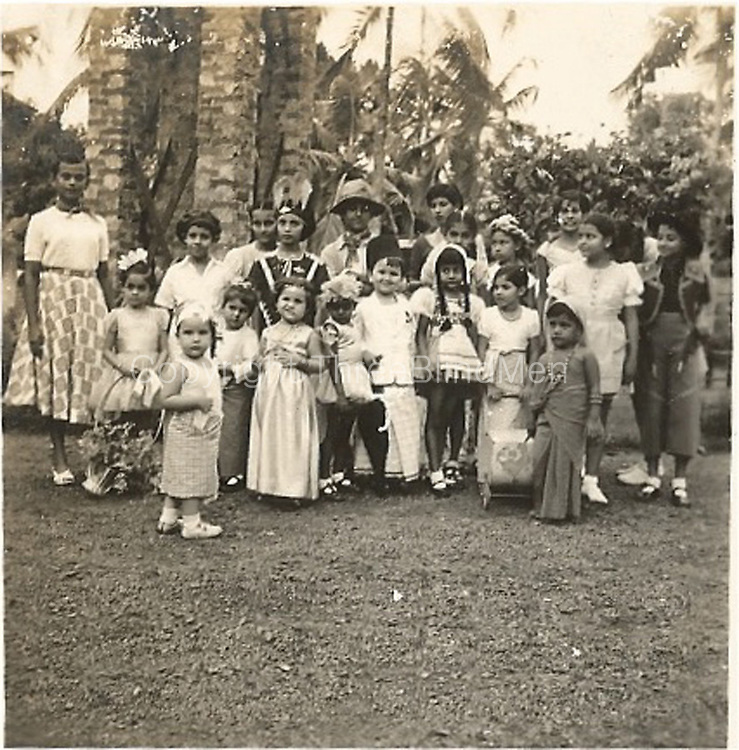 My 10th birthday party L to R back row:  Anthony Van der Wall, Melanie Sansoni, Theonie Ratnayake, Amita Silva Wimalakirti, ME, John Bevan,<br /> Ferne Ratnayake, Pravina, Patricia Sansoni, Yolande Fernando, Kilanthi S.W., Christine Direckze.<br /> Front  row: Simon Sansoni, ?, Fran Leembruggen, ?, Maarten V, Nalini Perera, Gail Ratnayake, Nihal Perera.
