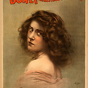 """Created and """"copyright 1899, Courier Litho. Co., Buffalo, N.Y."""" Actress; dancer; performer Caption: Sadie Harris, dancer."""