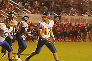 Oxford High's Conrey Meagher (17) vs. Center Hill in Olive Branch, Miss. on Friday, September 21, 2012. Oxford High won.