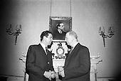 1967 - 13/05 Brendan O'Dowda at Áras