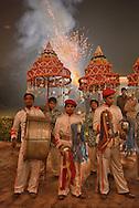 Band at Wedding,Bharatpur,Rajasthan,India,Asia