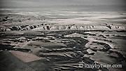 aerial image cutbank creek montana conservation photography - blackfeet oil