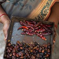 Cooking in a traditional kitchen in Kariakudi, Tamil Nadu