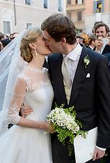 JUL 05 2014 Wedding Of Prince Amedeo of Belgium