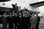 1965 - Farmers leave on Semac tour from Dublin Airport