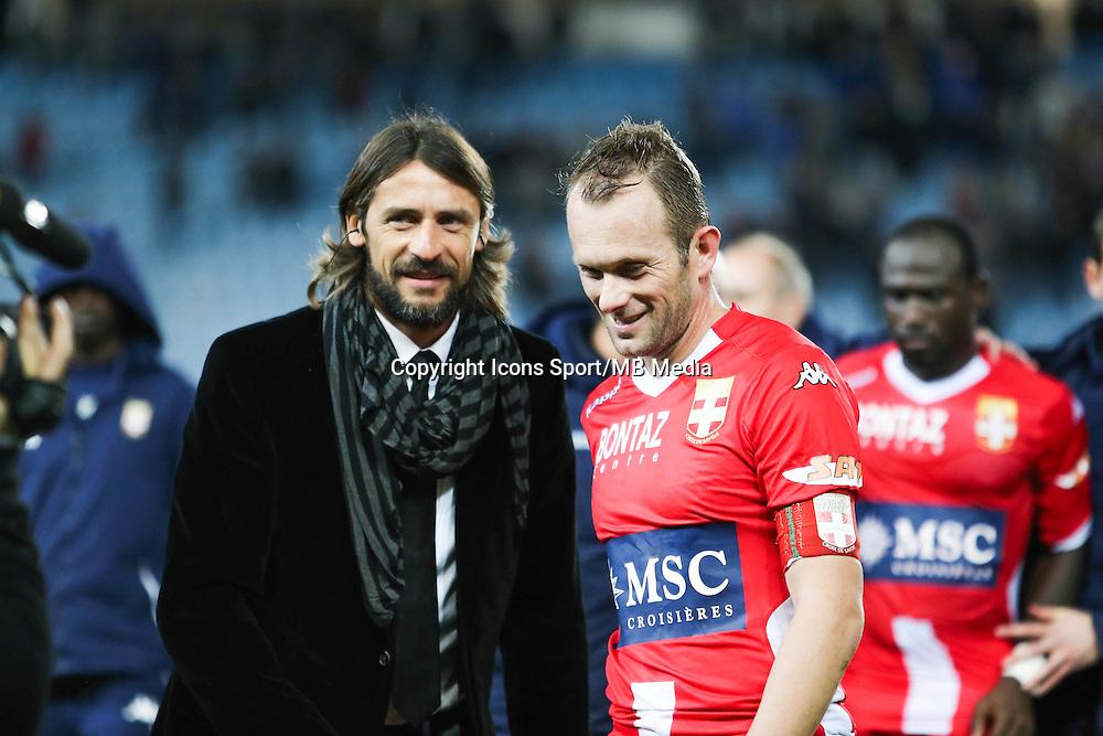 Pierre YVES ANDRE / Olivier ANDRE - 03.12.2014 - Bastia / Evian Thonon - 16eme journee de Ligue 1 <br />Photo : Michel Maestracci / Icon Sport