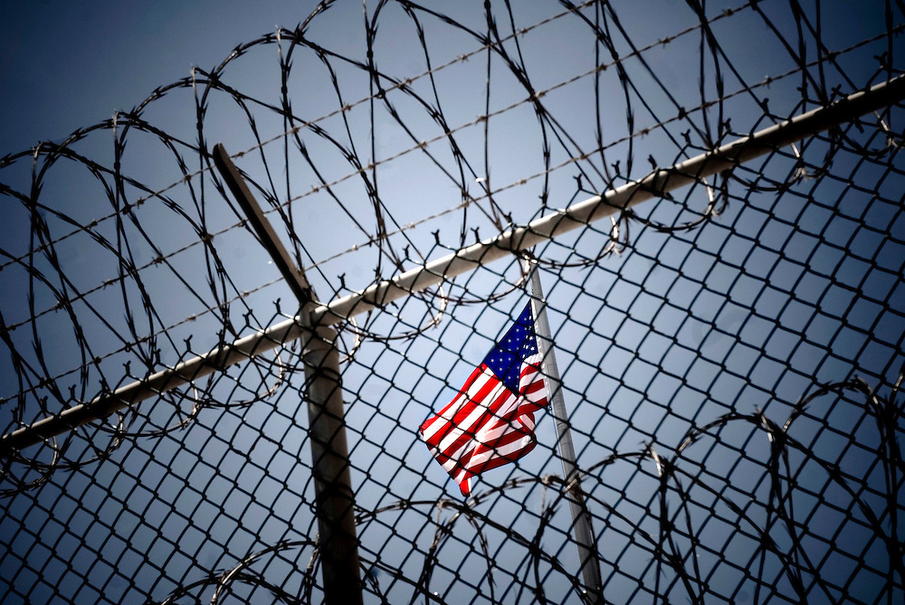 "US Naval base at Guantanamo Bay, Cuba. Detained ""enemy combatants"" from the war on terrorism...© Chris Maluszynski /MOMENT"