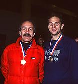 1991 British Indoor [Ergo] Rowing Championships, England Stock