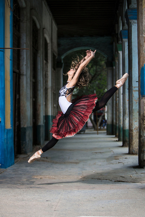 Cuban dancer Havana, member of the National Ballet of Cuba