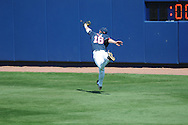 Ole Miss' Matt Smith (16) makes a catch at Oxford-University Stadium in Oxford, Miss. on Sunday, March 20, 2011.  Alabama won 6-4.
