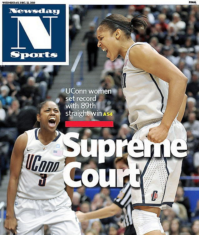 Newsday Sports Cover Dec. 22, 2010.