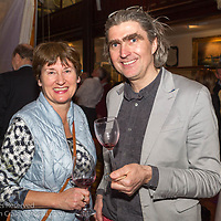 (l to r) Jackie Kilroy (Water Wag class) and William Despard (Bretzel Bakkery) attending the official launch of Volvo Dún Laoghaire Regatta 2017 in the National Maritime Museum of Ireland on Wednesday evening. The Regatta will be among the biggest mass-participatory sporting event in Ireland this year (eclipsed for numbers only by the city marathons).