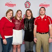 The University of South Dakota Women's Basketball takes on Utah State at the DakotaDome in Vermillion, SD.