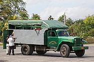 Willys truck in Jiguani, Granma, Cuba.