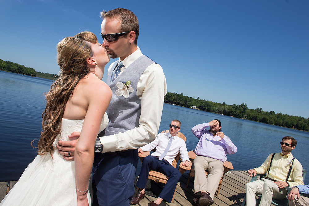 Bala, Ontario ---2016-07-22--- Justin and Chantal's Wedding in Bala, Ontario<br /> GEOFF ROBINS