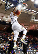 SOUTH BEND, IN - DECEMBER 21: Zach Auguste #2 of the Notre Dame Fighting Irish dunks the ball against the Niagara Purple Eagles at Purcel Pavilion on December 21, 2012 in South Bend, Indiana. (Photo by Michael Hickey/Getty Images) *** Local Caption *** Zach Auguste