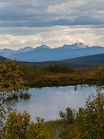 Autumn landscape, North-Norway