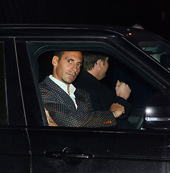 Rio Ferdinand attends LCM a/w 2015 Oliver Spencer Show  at The Old Sorting House, New Oxford Street,  London on Saturday 10 January 2015