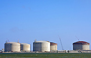 LNG Storage Construction, Port Arthur, TX