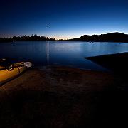 Kayak Camping on Loon Lake, CA 2009