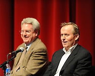 Author John Grisham speaks at the 17th annual Oxford Conference for the Book in Oxford, Miss. on Thursday, March 4, 2010. The 17th annual Oxford Conference for the Book is dedicated to Barry Hannah.