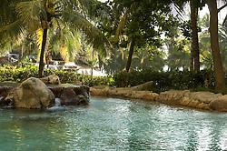 Pool area at the Princess Hotel, Acapolco Mexico.