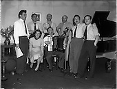 """1952 - """"Music Makers"""" recording for the United States."""