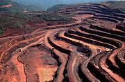 Brazil. Para State, Carajas iron mine in Amazon rainforest.