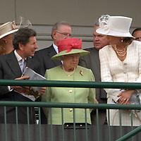 Queen Elizabeth visits the Kentucky Derby