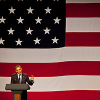 President Obama speaking in Beverly Hills.