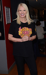 Anneka Rice attends A special VIP performance of Peter Pan at The Chickenshed Theatre, Chase Side, London N14 on Sunday 4 January 2015