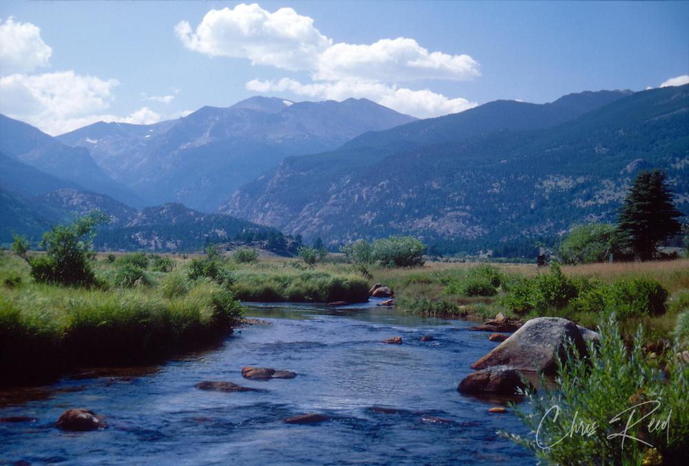 USA, Colorado, Rocky Mountain National Park.