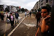 Street Scene...Pristina, Kosovo, Serbia
