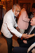 11 August 2010-New York, NY- Former Secretary of New York State and Governor David Patterson's Father,  Basil Patterson at Congressman Charles Rangel 80th Birthday Celebration and Campaign Fundraiser for embattled Congressman where sold out crowd of Politicians and Supporters where present to wish Congressman Charles Rangel well and held at The Plaza Hotel on August 11, 2010 in New York City. Photo Credit: Terrence Jennings